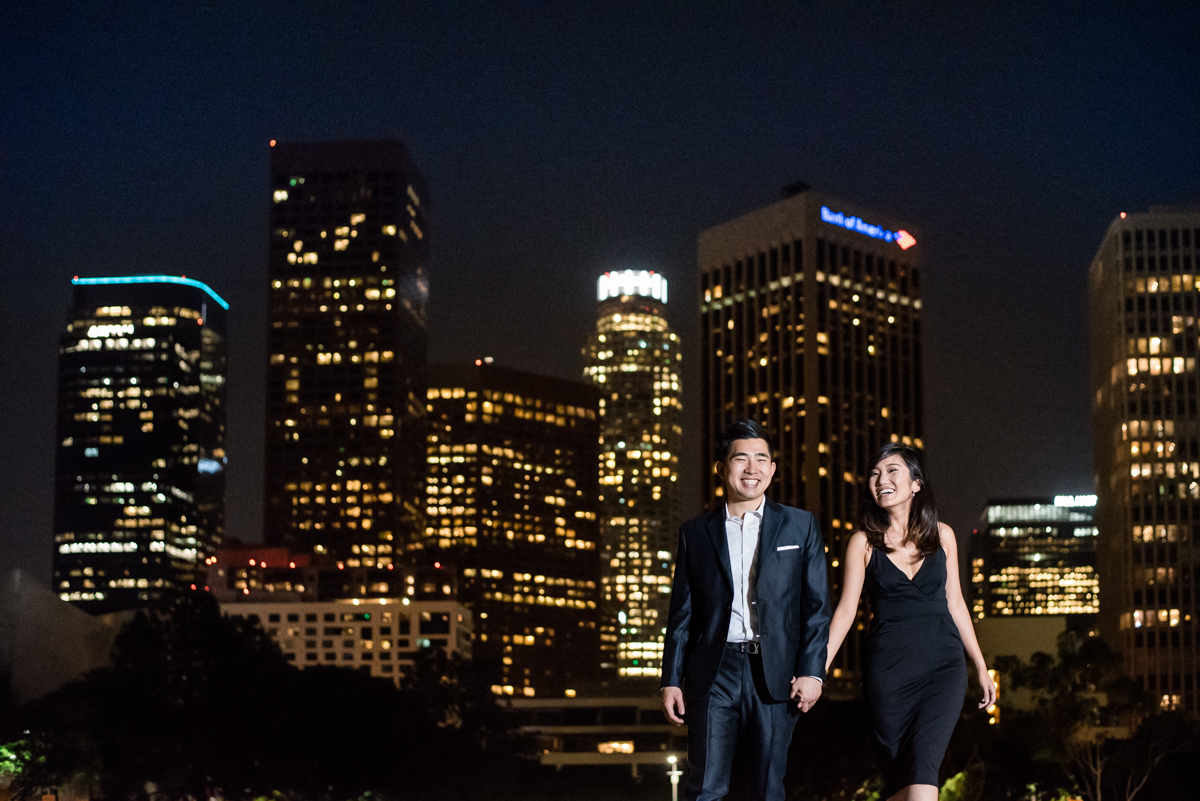 Downtown LA Engagement