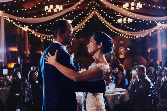 Wedding first dance Ponte Winery