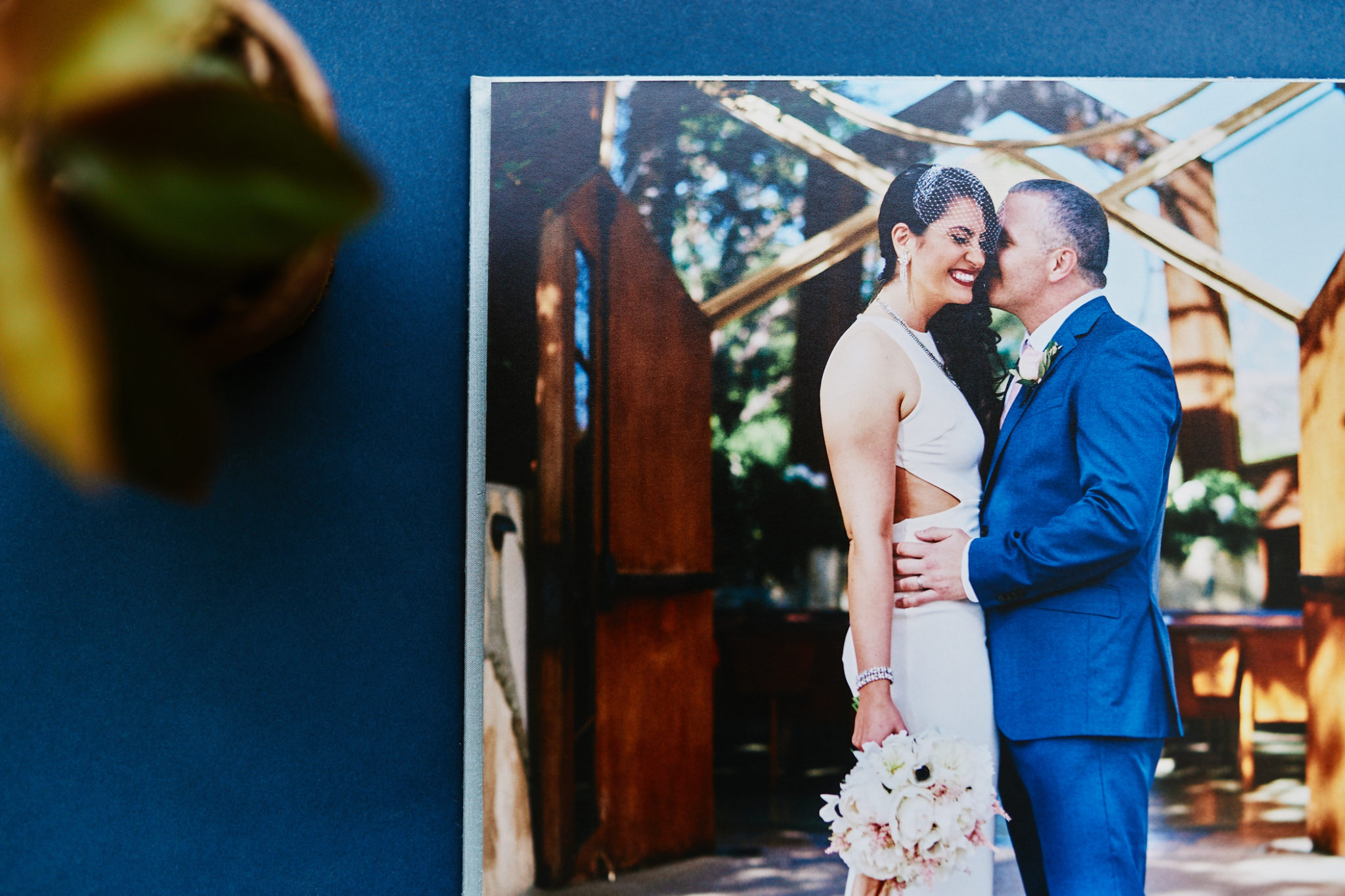 "15"" x 10"" silk wedding album"
