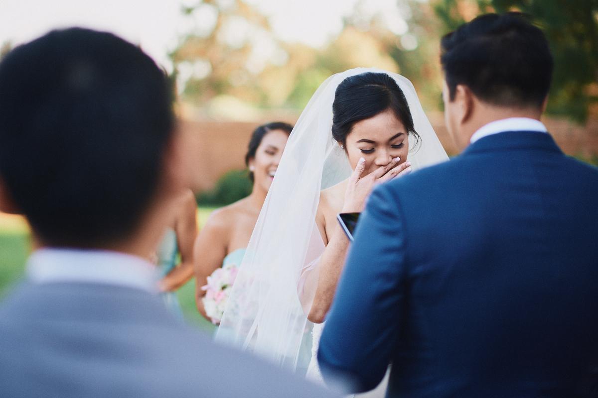 Placentia wedding ceremony
