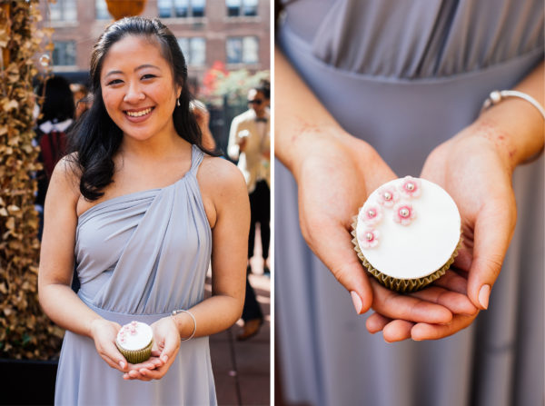 Cupcake diptych