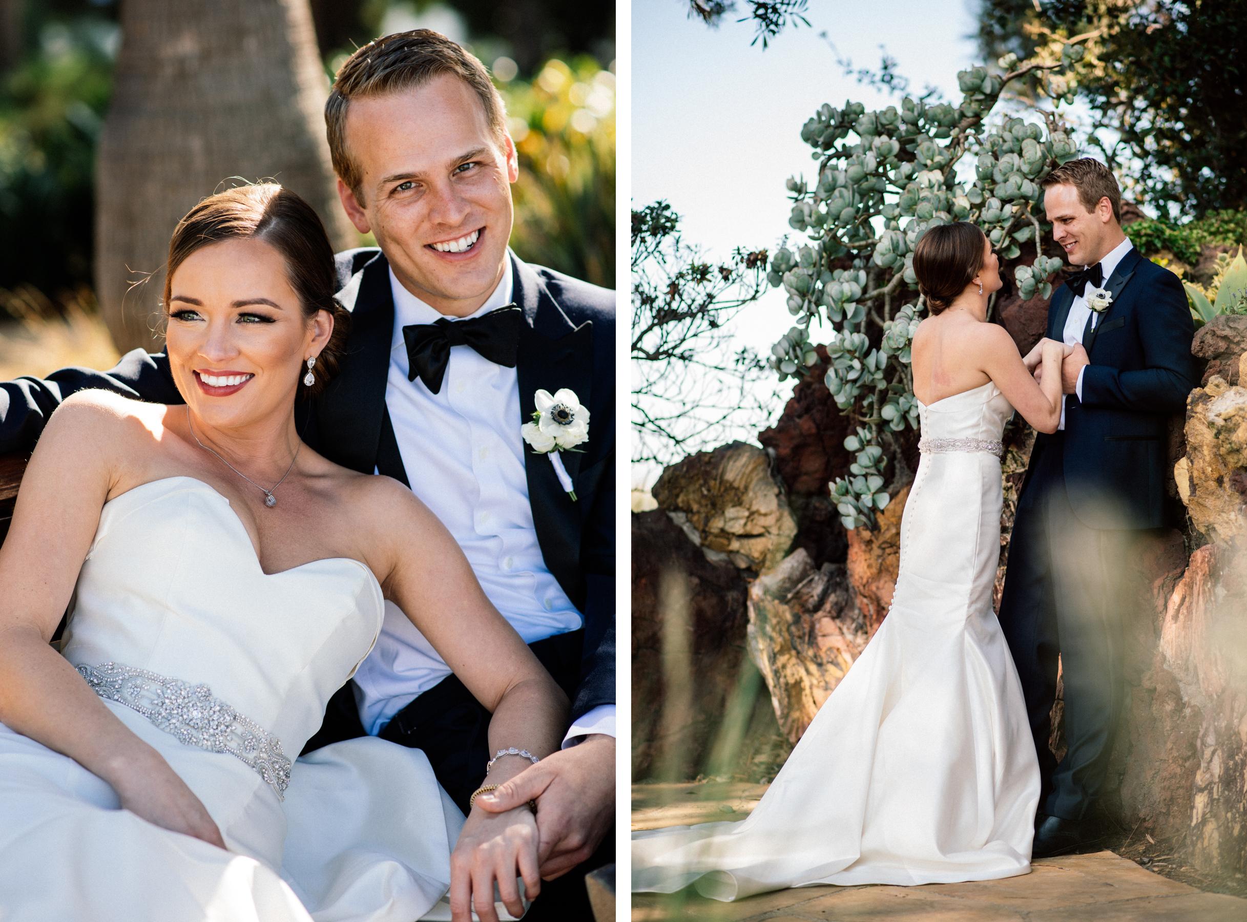 lmu wedding portrait