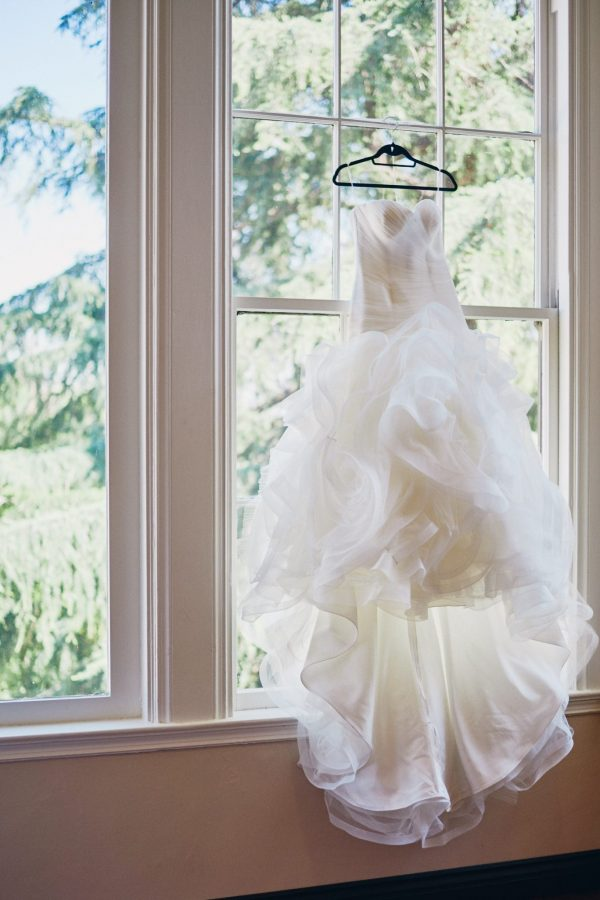 Wedding dress Altadena Country Club - Stephen Tang Photo