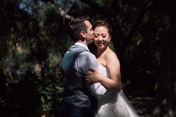 Wedding first Calamigos Ranch