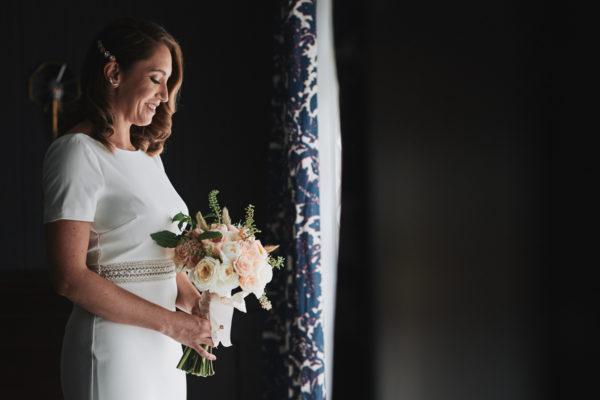 Bride portrait Los Angeles Athletic Club