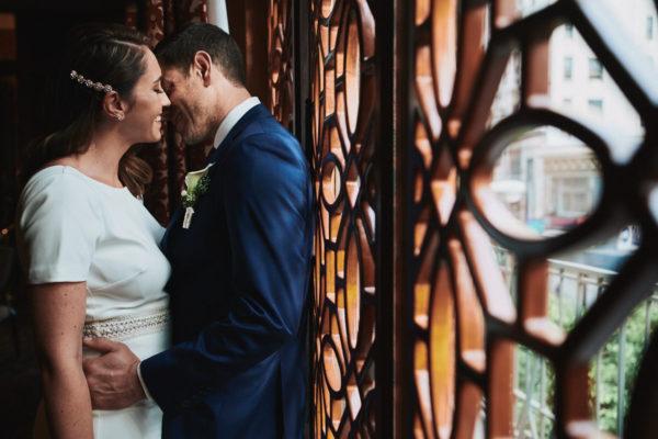 Wedding moment Los Angeles Athletic Club