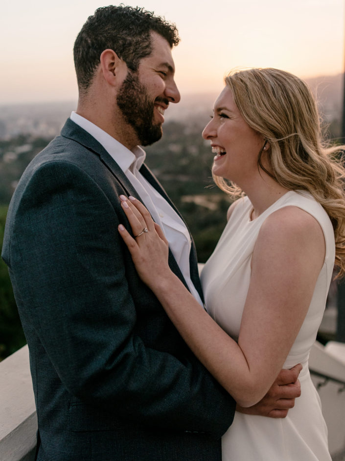 Sunset Portrait at the Griffith Park Observatory