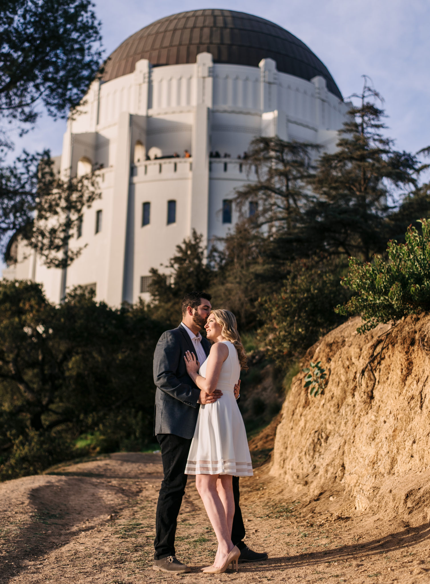 Sunset Portrait at the Griffith Park Observatory - Stephen Tang Photo