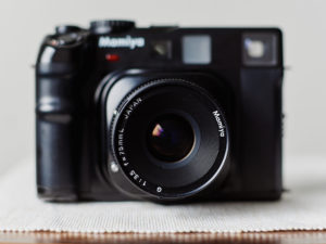 Classic camera Mamiya 6