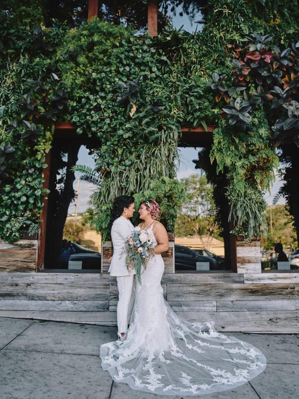 Same sex wedding laguna beach