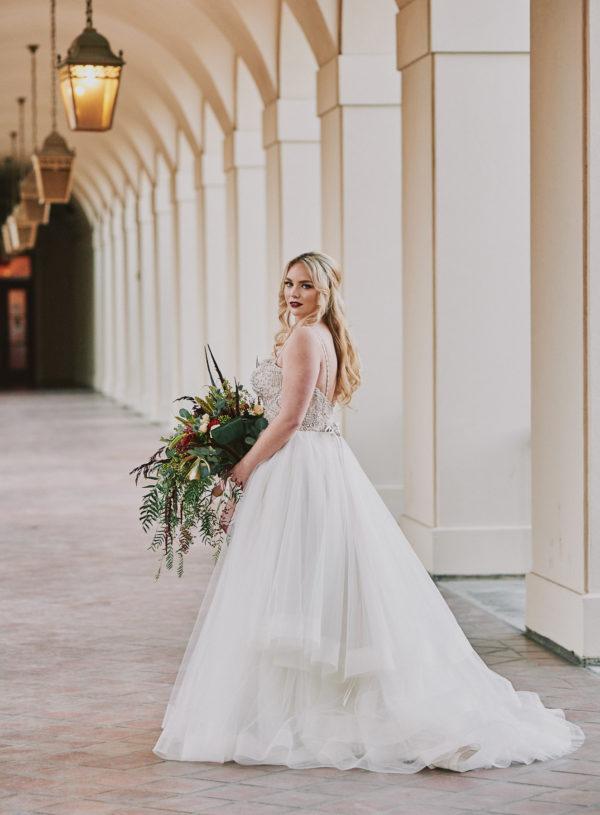 Wedding dress pasadena city hall