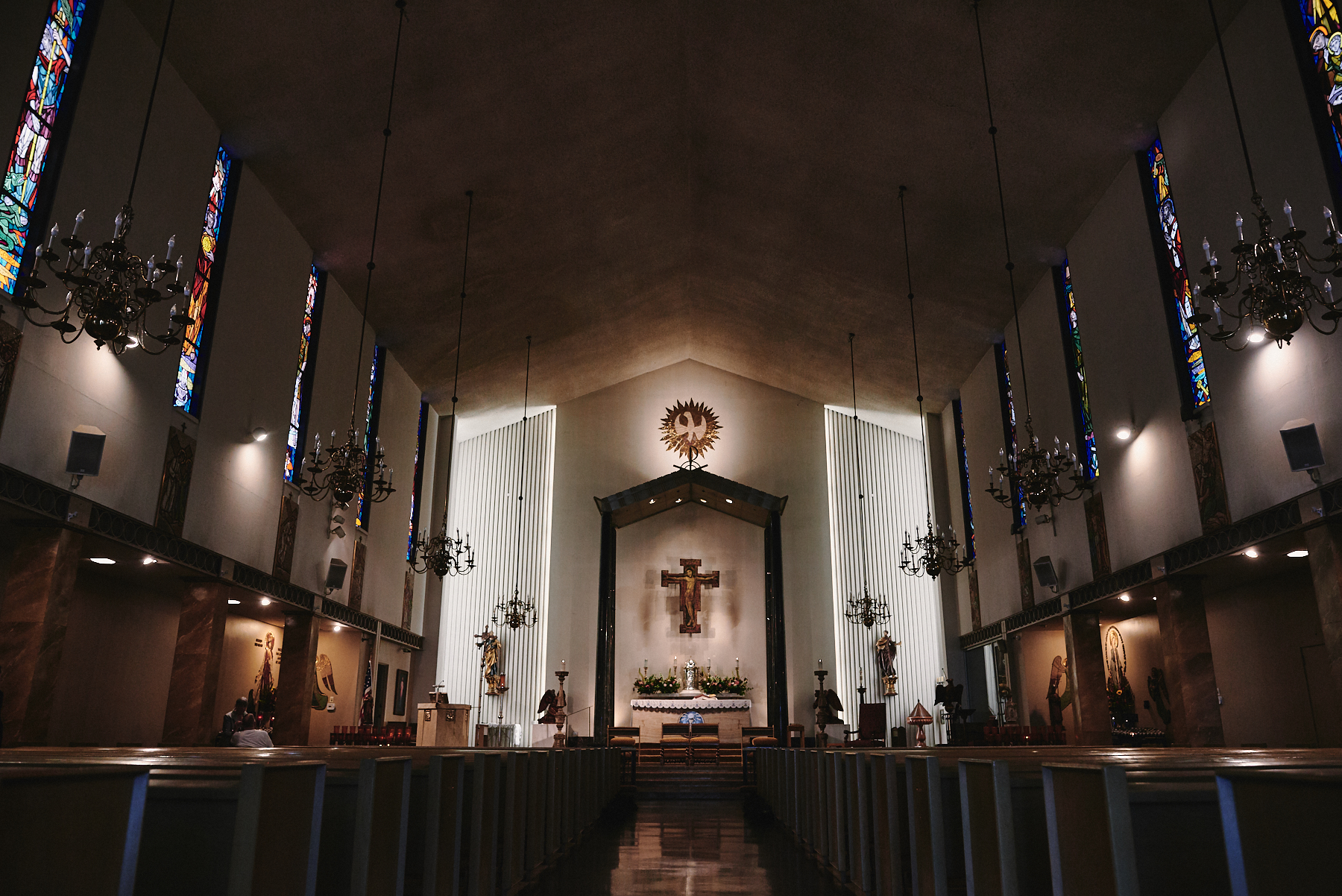 Saint Victor Catholic Church wedding West Hollywood
