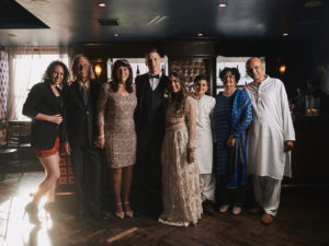 Wedding family portrait Perch LA
