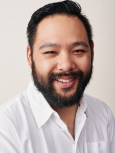 LA male actor headshot studio lighting