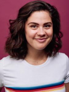 LA female actor headshot studio lighting