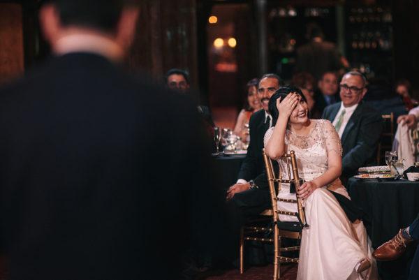 Cicada Club wedding candid moments