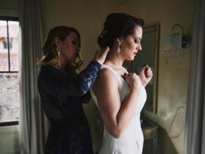 Secret Garden Event Center wedding bridal prep