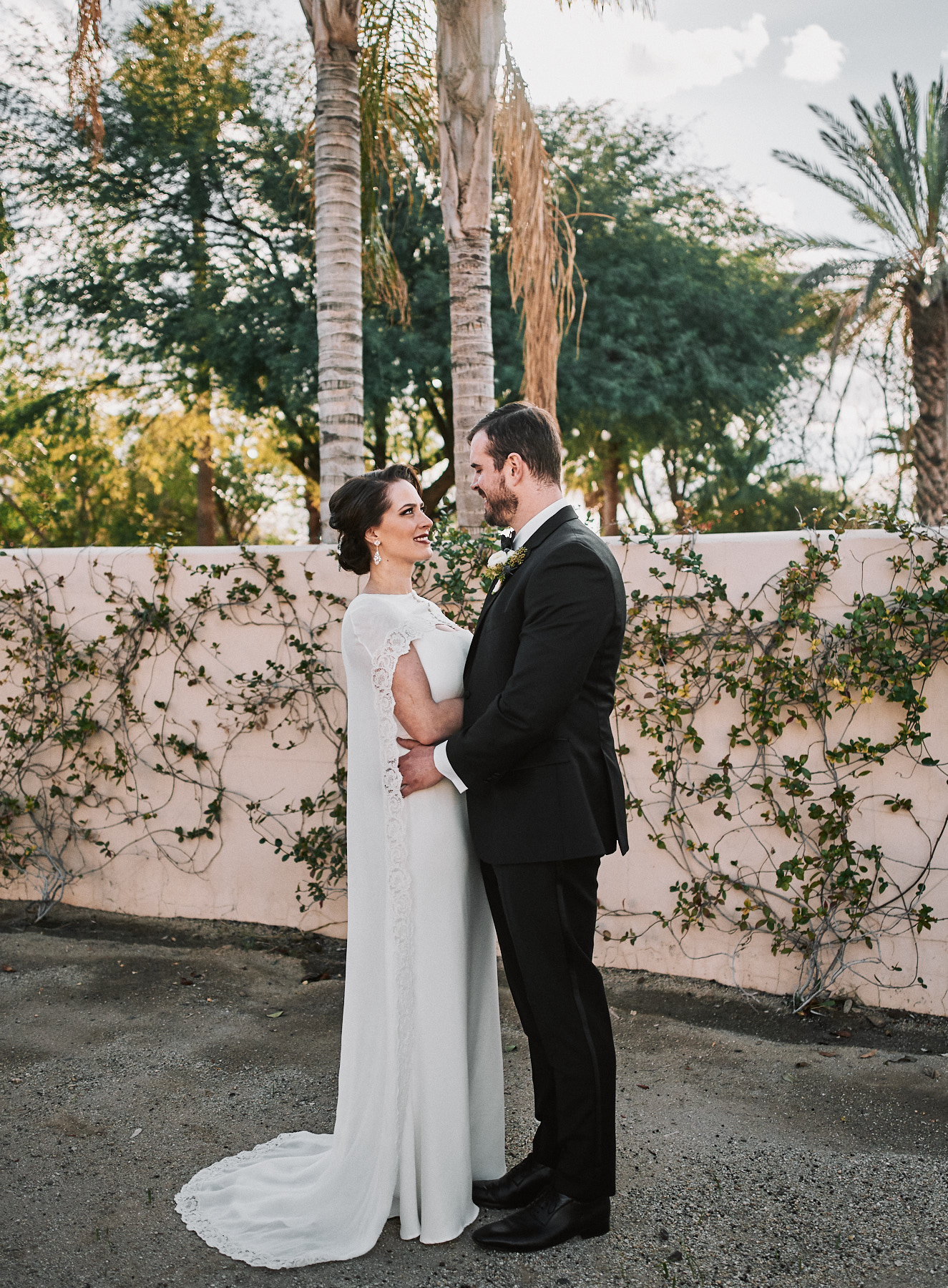 Secret Garden Event Center wedding portrait