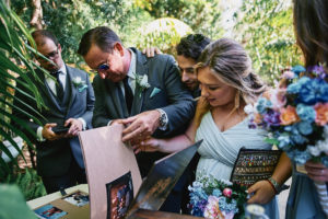 Hartley Botanica wedding guests signing guestbook