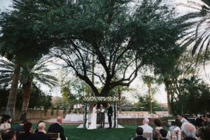 Secret Garden Event Center wedding ceremony