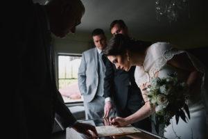 Secret Garden Event Center marriage license signing