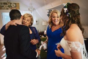 Hartley Botanica wedding family candid