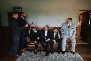 Secret Garden Event Center wedding groom prep