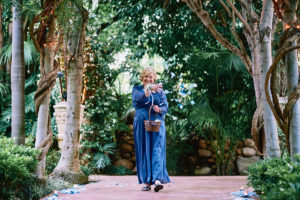 Hartley Botanica wedding grandmother flowergirl
