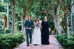 Hartley Botanica wedding ceremony
