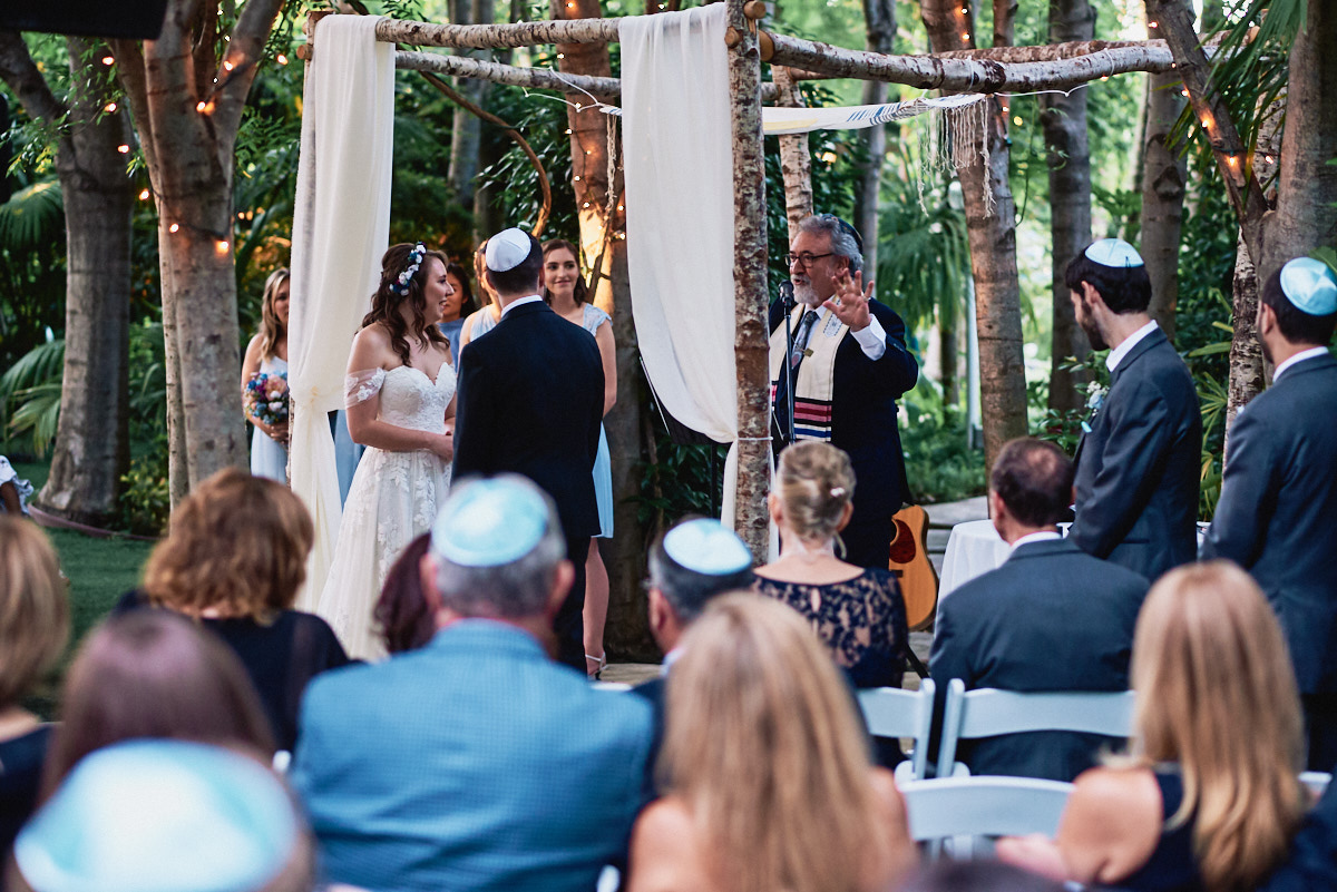 Hartley Botanica wedding ceremony