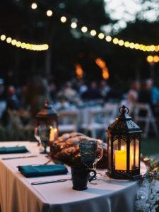 Hartley Botanica wedding reception sweetheart table outdoors