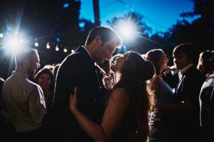Hartley Botanica wedding guests dancing