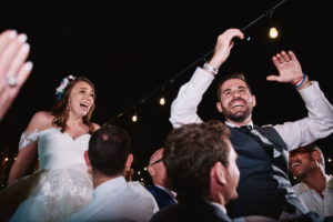 Hartley Botanica Jewish wedding horah