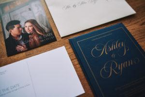 Salvation Army Crestmont College wedding invitations