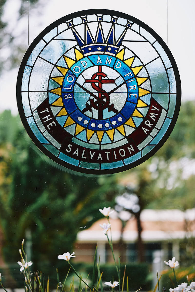 Salvation Army Crestmont College logo
