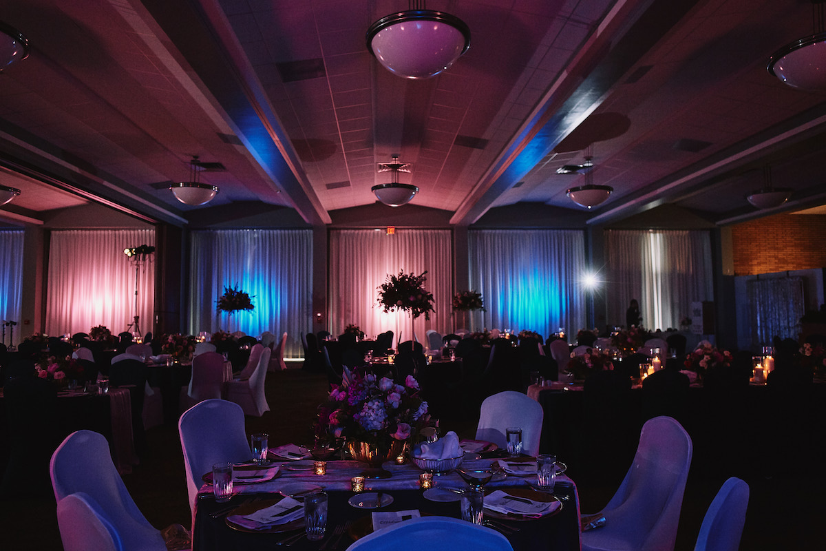 Salvation Army Crestmont College wedding reception site