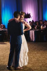 Salvation Army Crestmont College wedding first dance