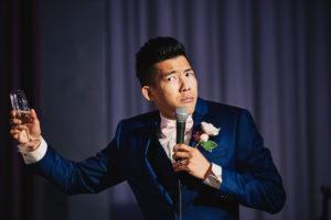 Salvation Army Crestmont College wedding speech