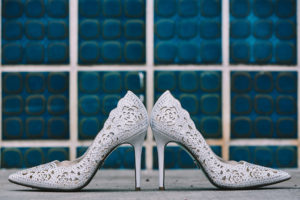 Salvation Army Crestmont College wedding shoes
