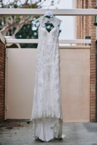 Salvation Army Crestmont College wedding dress