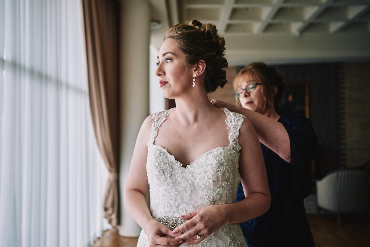 Salvation Army Crestmont College wedding bridal prep