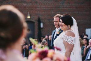 Diamond Mills Hotel wedding ceremony