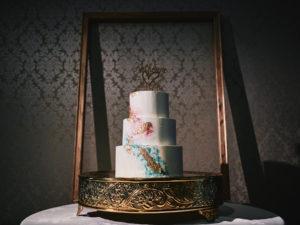 Diamond Mills Hotel wedding cake