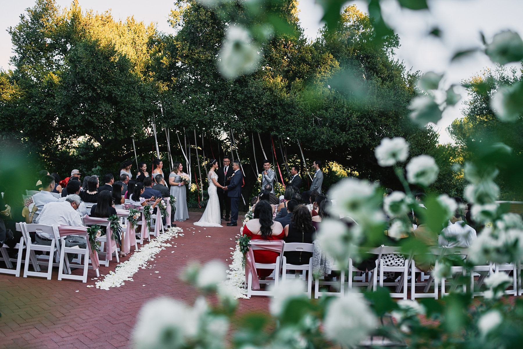 Quail Ranch wedding ceremony