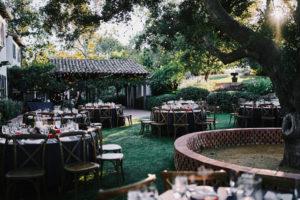 Quail Ranch wedding reception