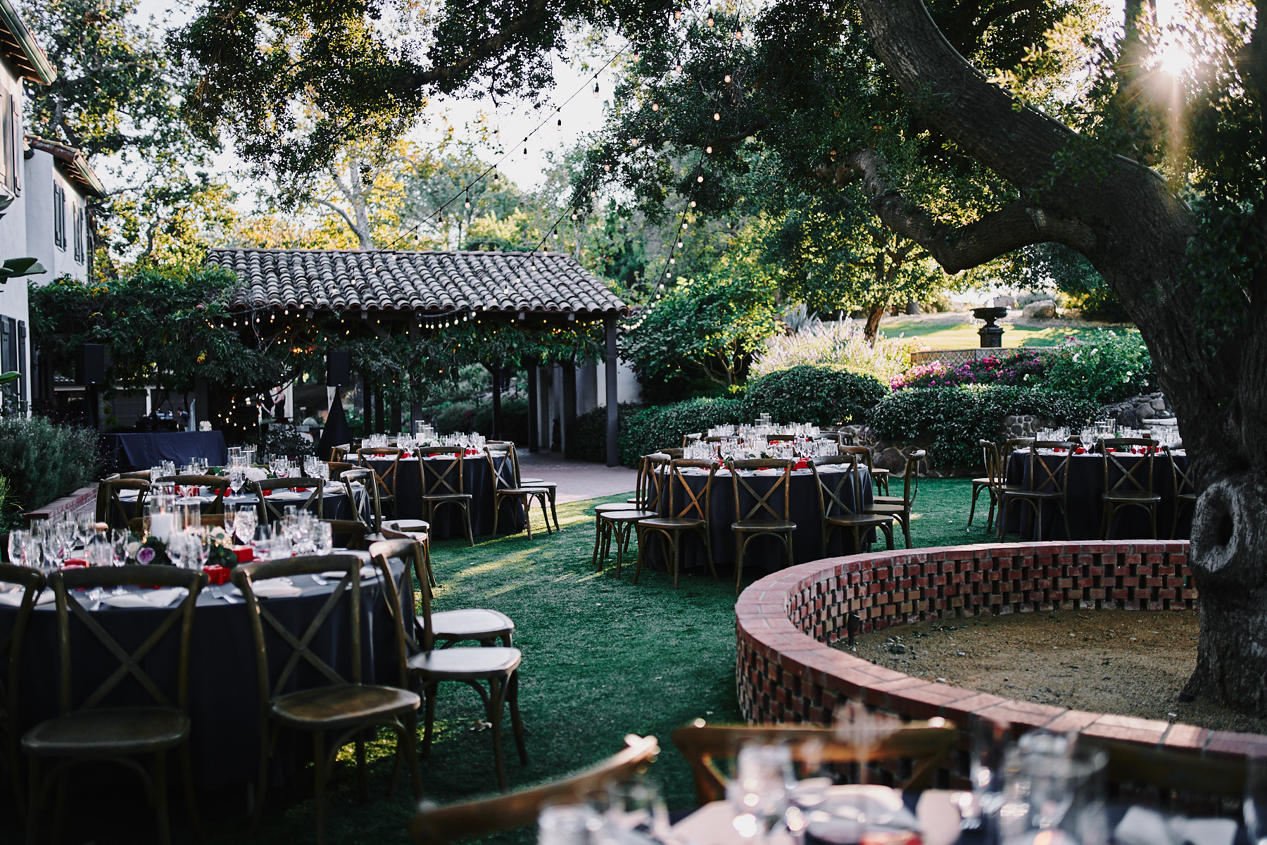Quail Ranch wedding reception