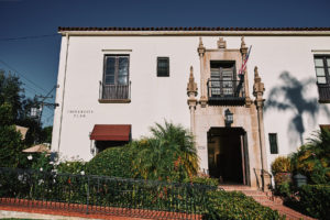 Riviera Mansion entrance
