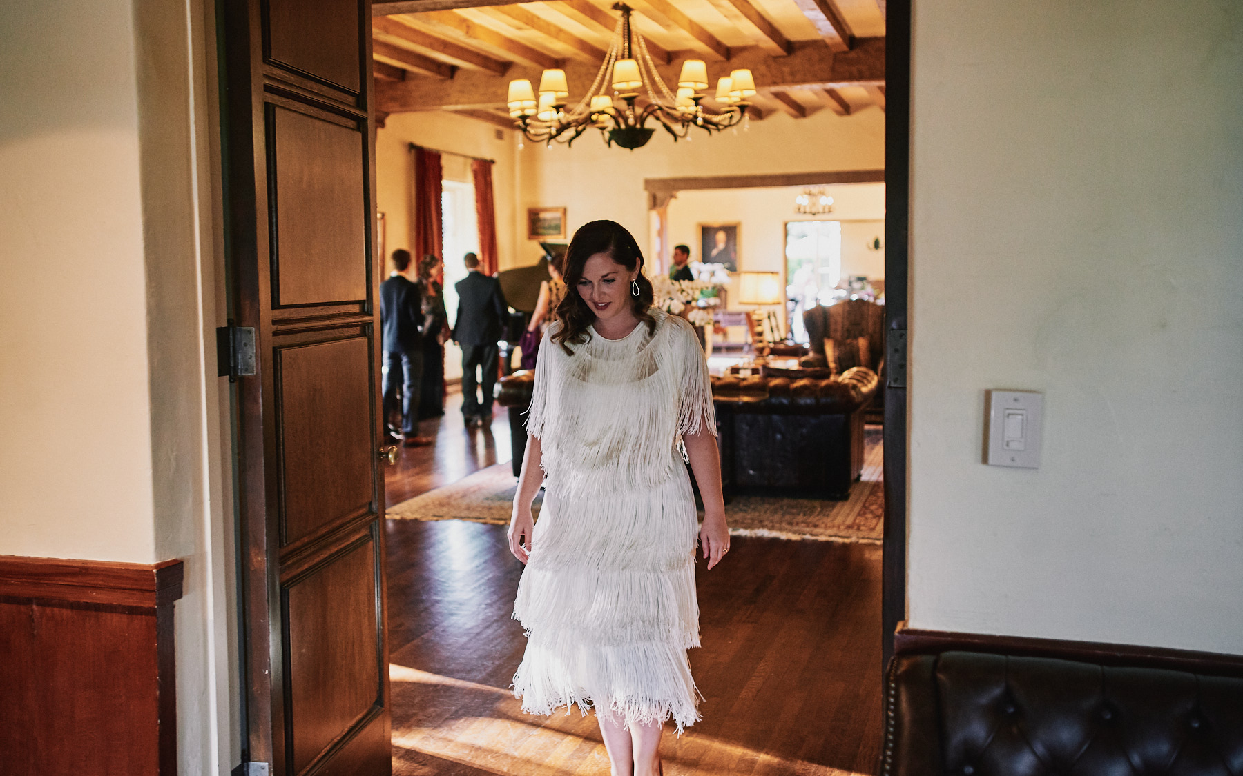 Riviera Mansion wedding first look