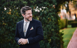 Riviera Mansion wedding first look