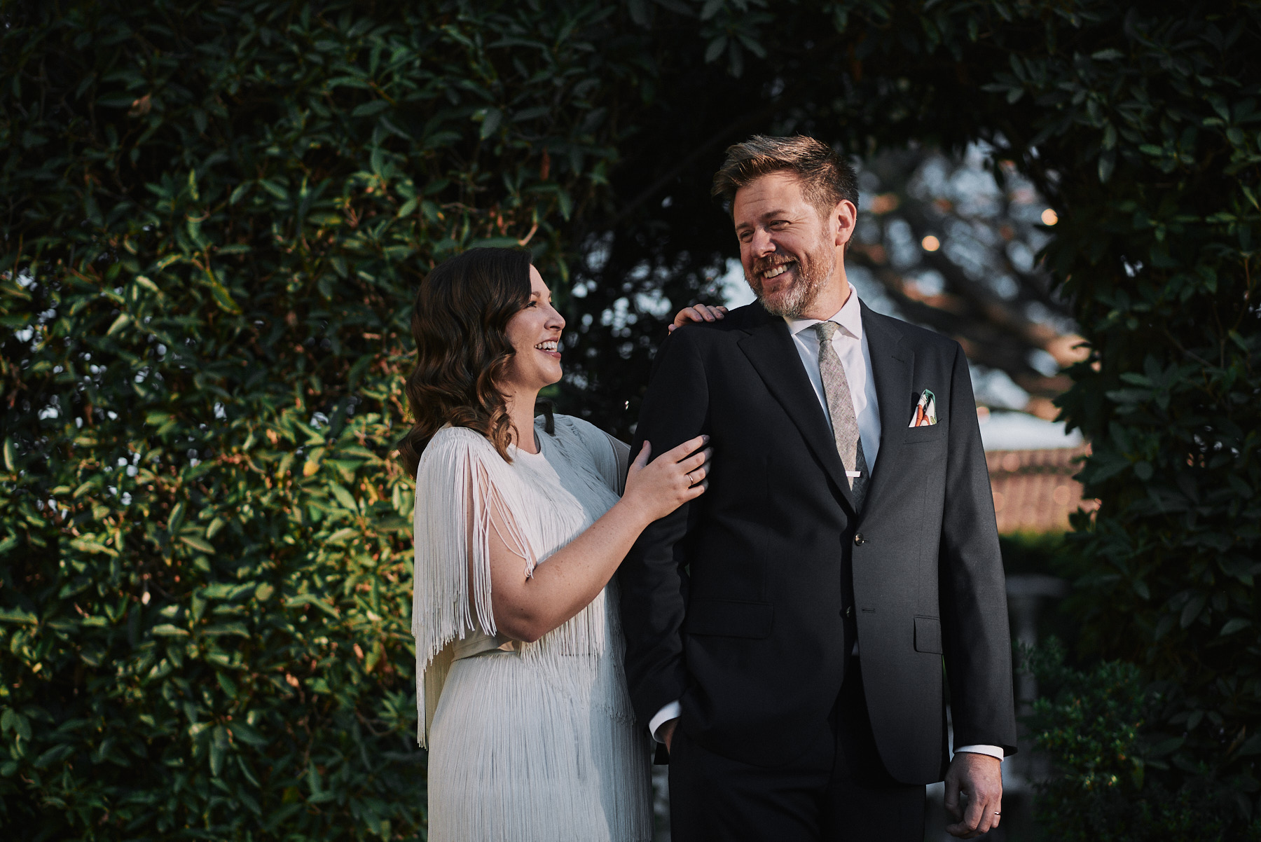 Riviera Mansion wedding portrait